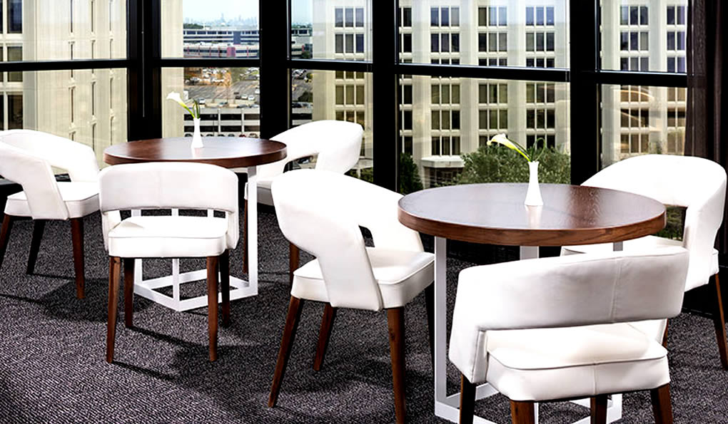 Recent Project ~ Le Méridien Chicago Oakbrook Center: Dining Tables